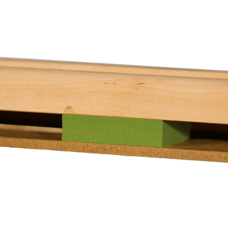 espuma verde de tarima de danza manero classic