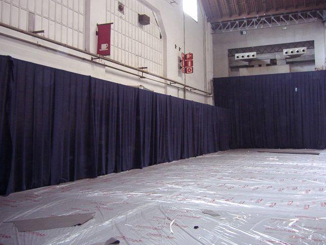 Estructura para cortinas