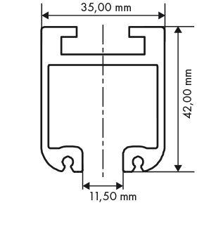 perfil de carril tt2