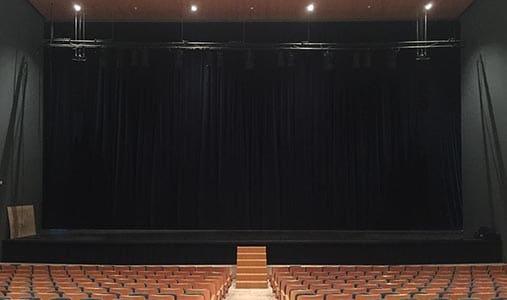 Cámara negra para teatro