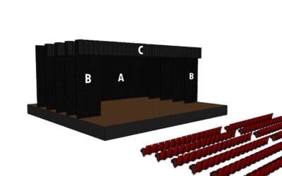 ¿Qué es una cámara negra de teatro?