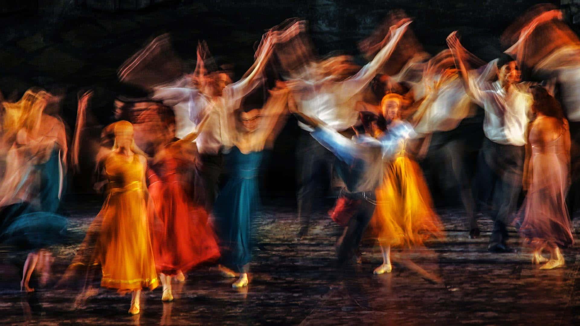 Suelo de danza clásica